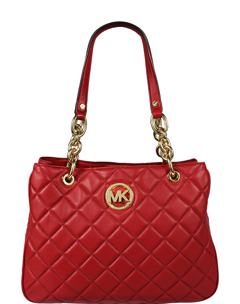 Michael Kors MD Tote Red